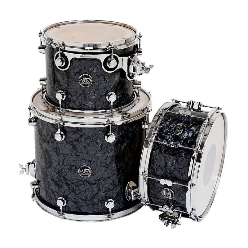 "DW Performance Series 3-Piece Tom/Snare Shell Pack (14"" Snare, 12/16"" Toms)"