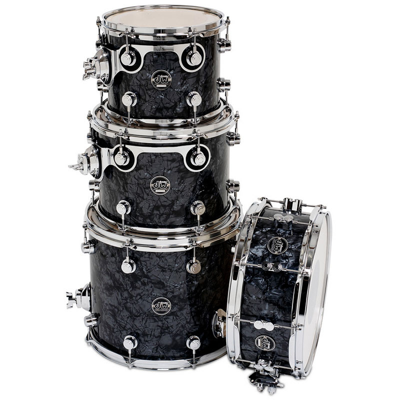 "DW Performance Series 4-Piece Tom/Snare Shell Pack (14"" Snare, 10/12/14"" Toms)"