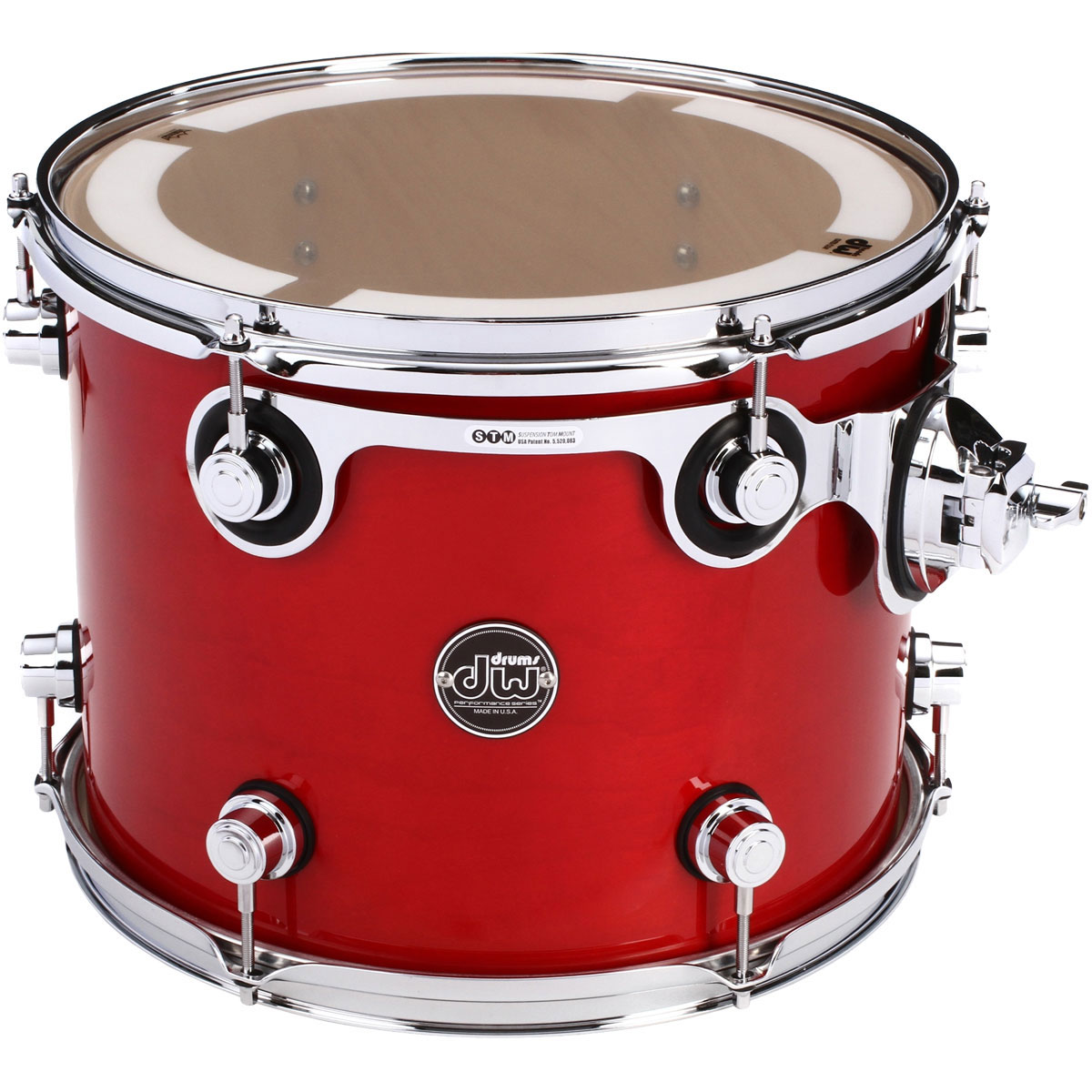 "DW 10"" (Deep) x 13"" (Diameter) Performance Series Tom in Specialty Lacquer Finish"