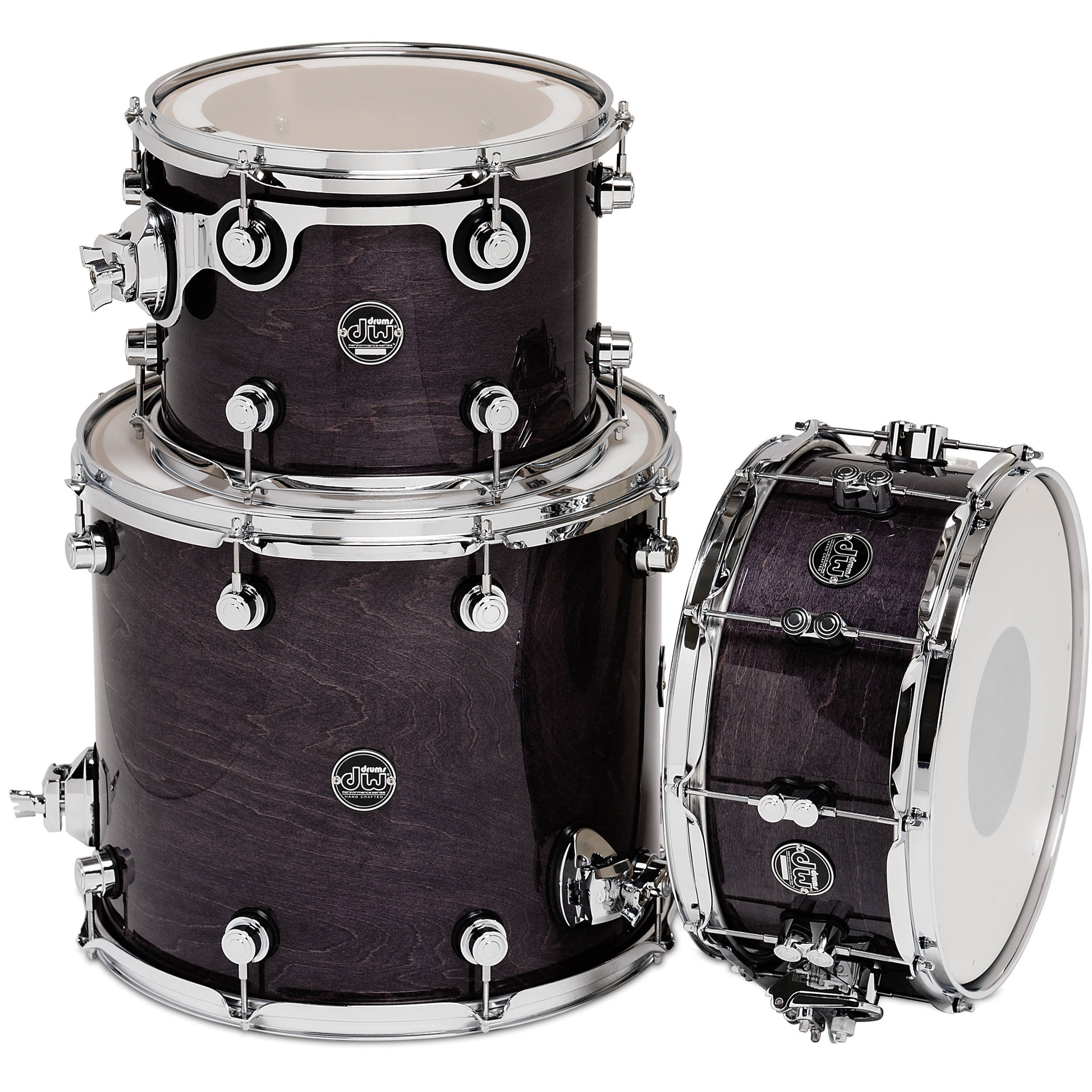 "DW Performance Drum Shell Pack (12/16"" Toms, 14"" Snare)"