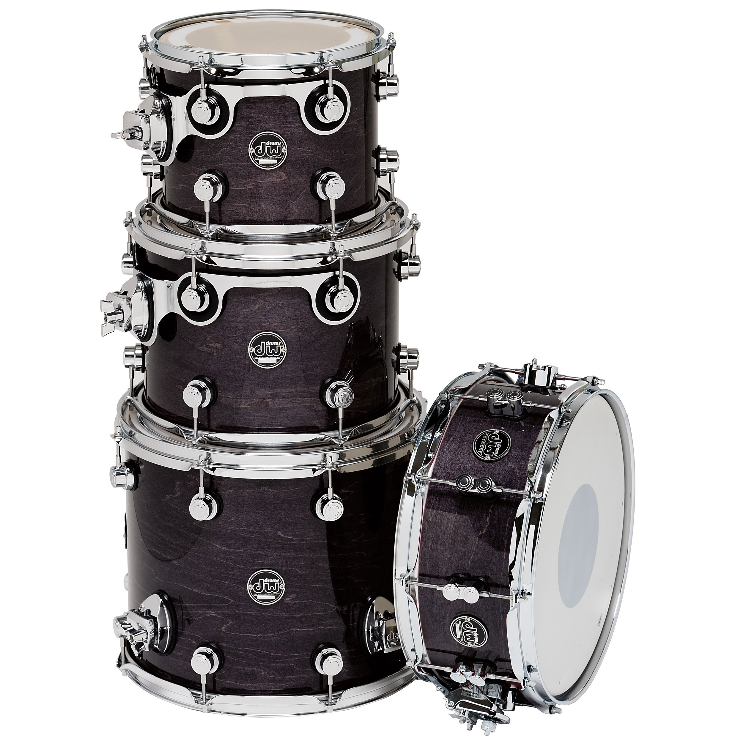 "DW Performance Drum Shell Pack (10/12/14"" Toms, 14"" Snare)"