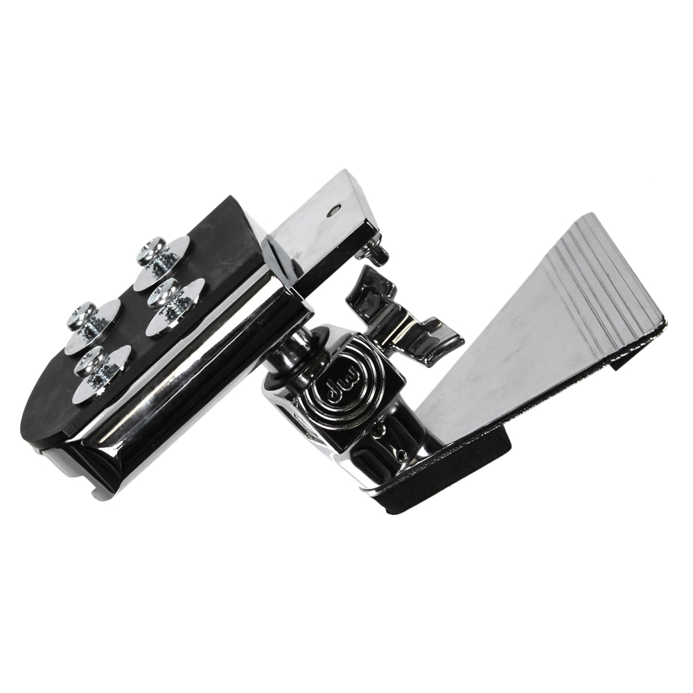 DW Chrome Bass Drum Lifter