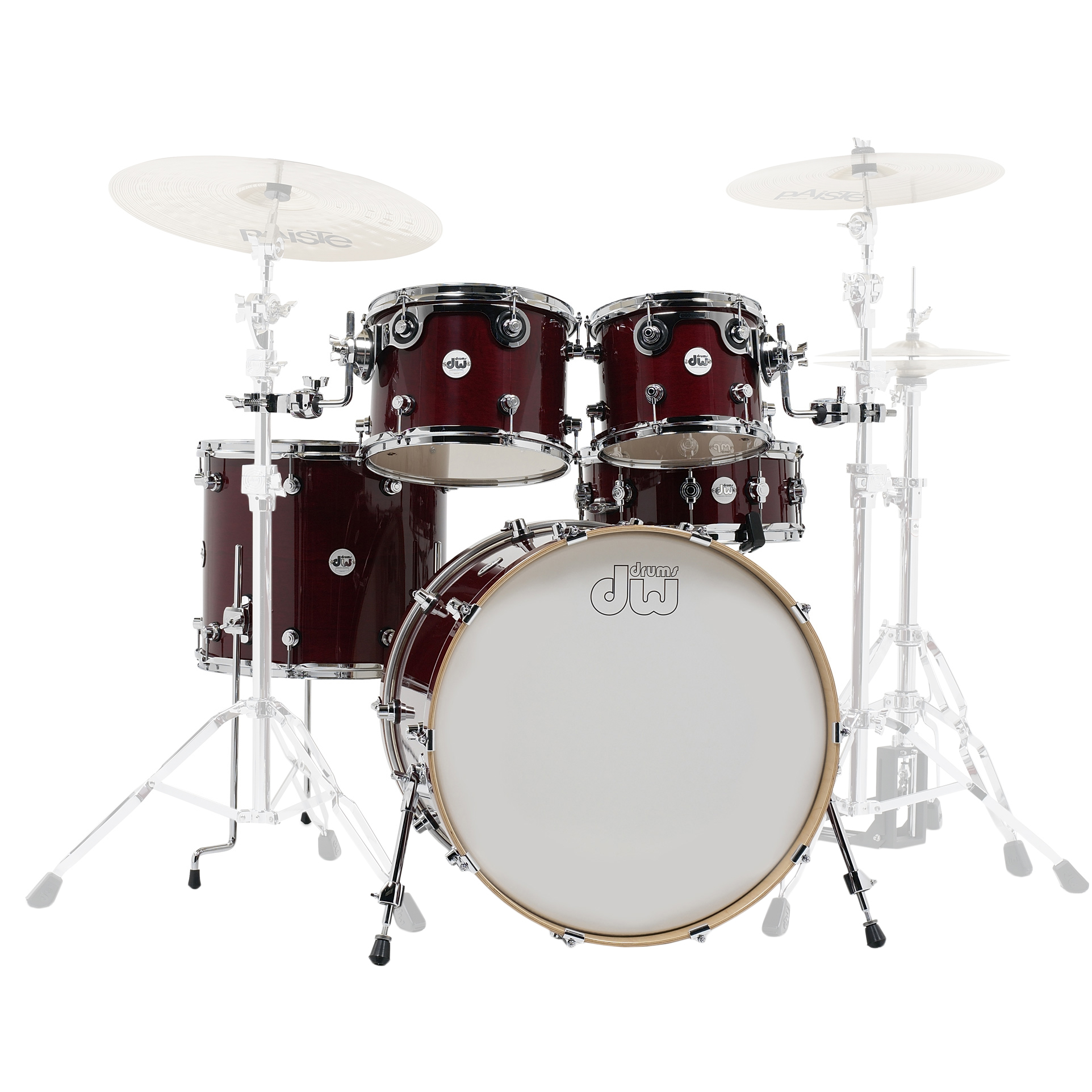 "DW Design Series 5-Piece Drum Set Shell Pack (22"" Bass, 10/12/16"" Toms, 14"" Snare)"