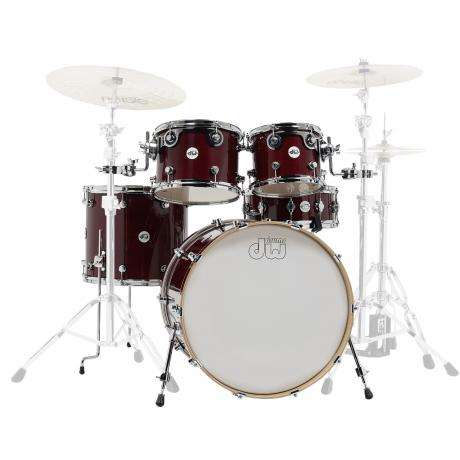 DW Design Series 5-Piece Drum Set Shell Pack (22