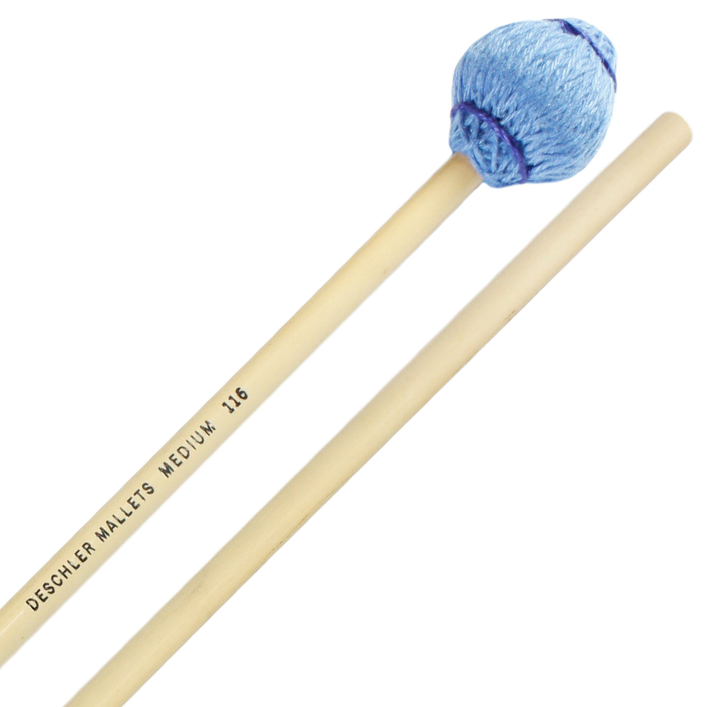 Deschler All-Purpose Keyboard Mallets, Medium Mushroom Head, Rattan