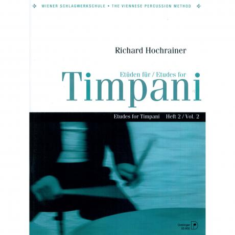 Etuden fur Timpani (Etudes for Timpani) Vol. 2 by Richard Hochrainer