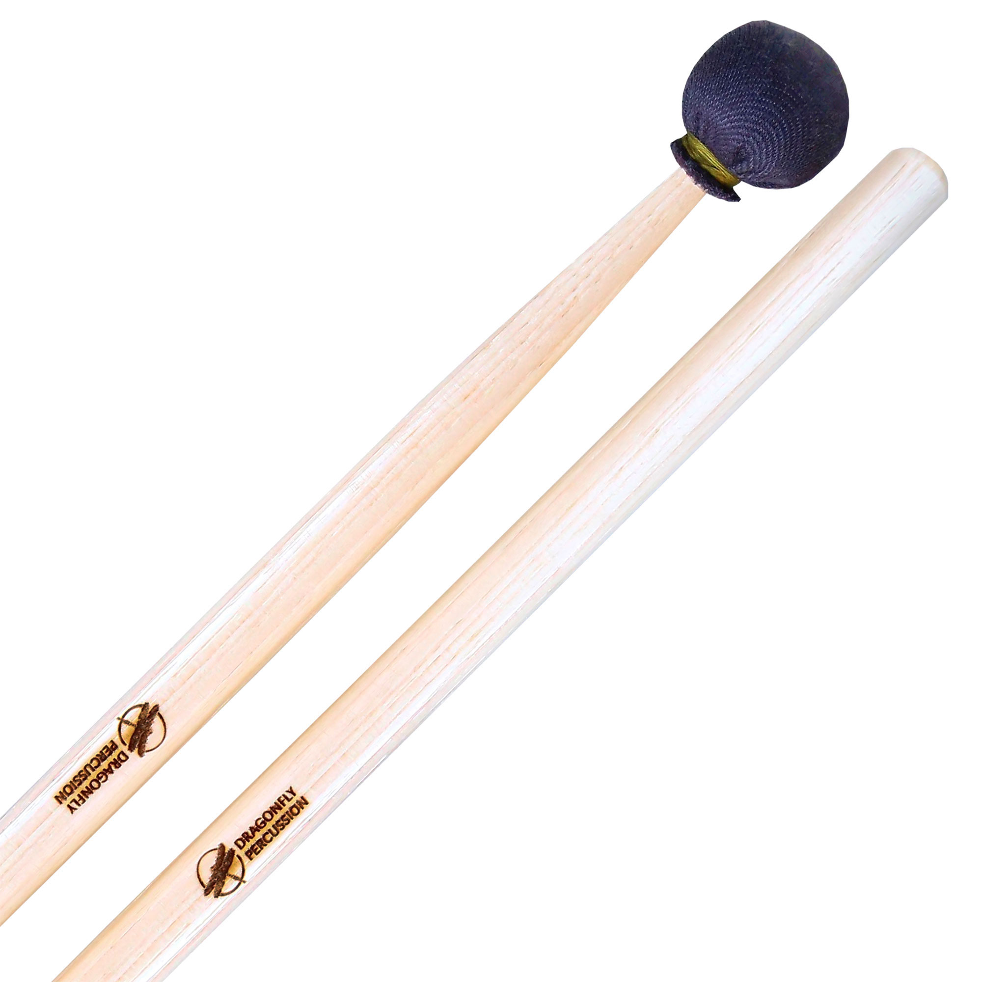 Dragonfly Percussion Medium Suspended Cymbal Mallets with Hickory Handles