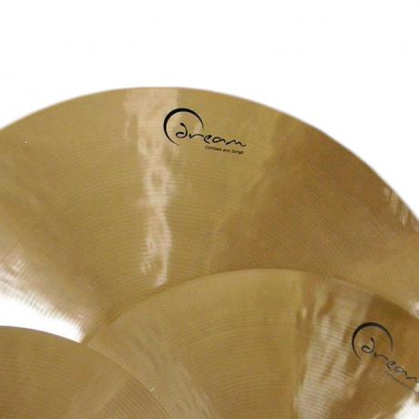 Dream Ignition Series Large 3-Piece Cymbal Box Set (Hi Hats, Crash, Contact Crash/Ride) with FREE Bag