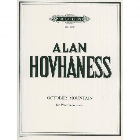 October Mountain by Alan Hovhaness