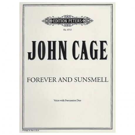 Forever and Sunsmell by John Cage