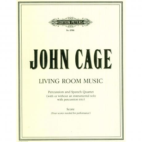 Living Room Music by John Cage