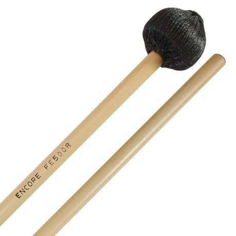 Encore Black Cord Hard Front Ensemble Keyboard Mallets with Rattan Shafts