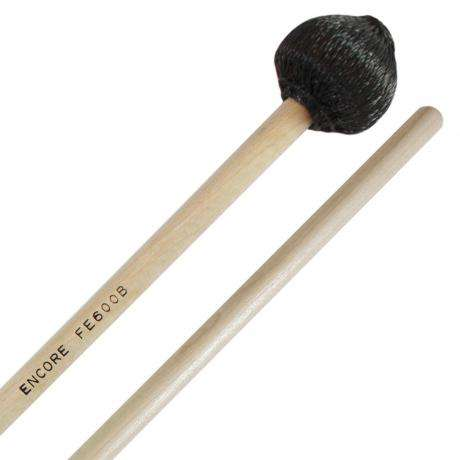 Encore Black Cord Hard Front Ensemble Keyboard Mallets with Birch Shafts
