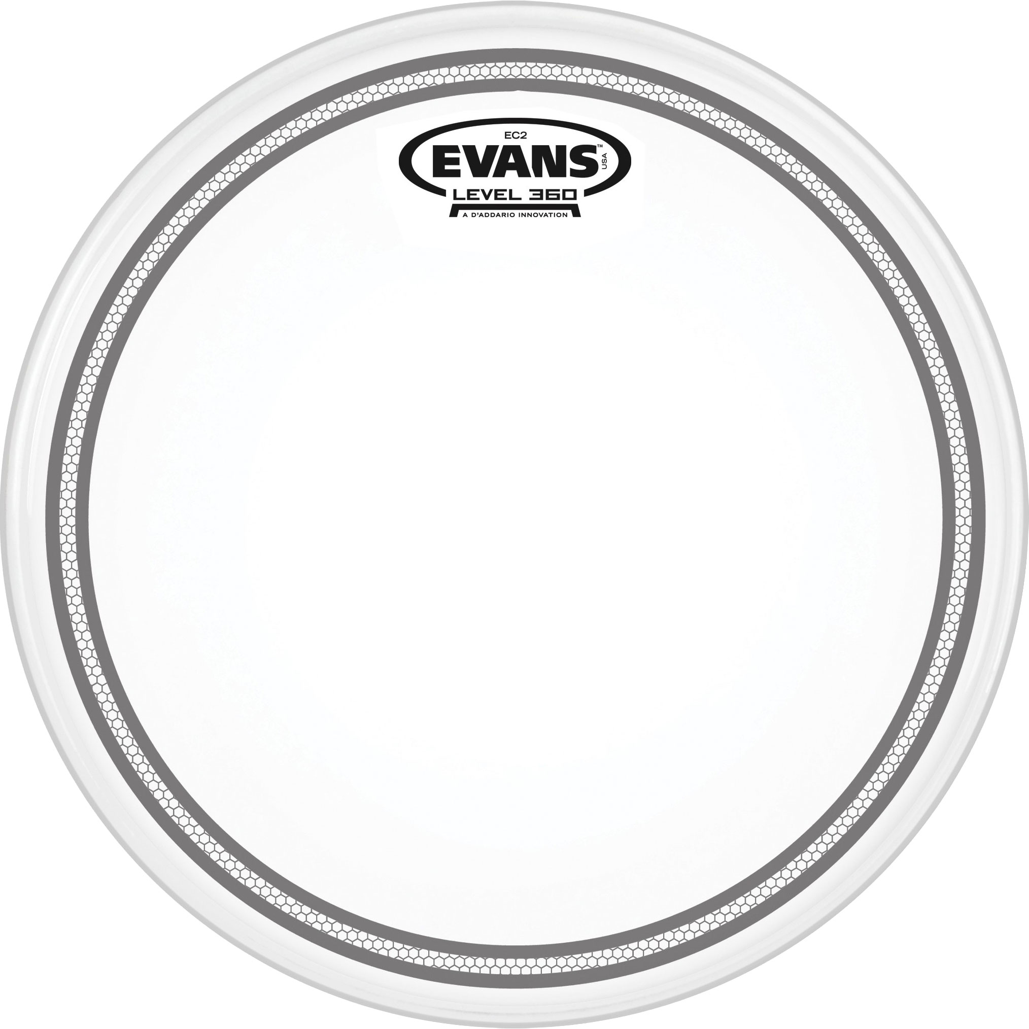 "Evans 6"" EC2 Edge Control Coated SST Tom Head"