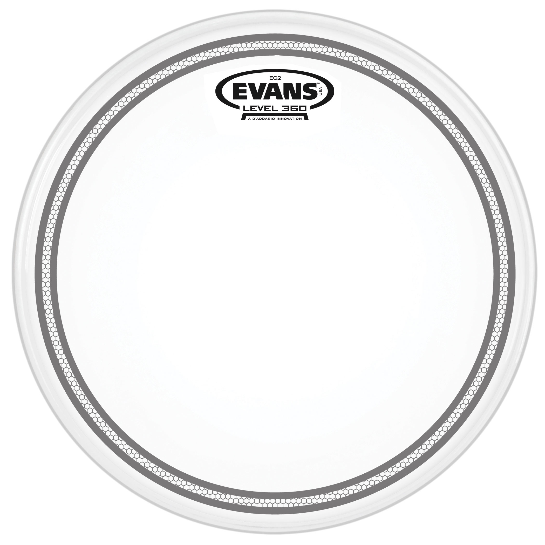 "Evans 14"" EC2S Frosted Head"
