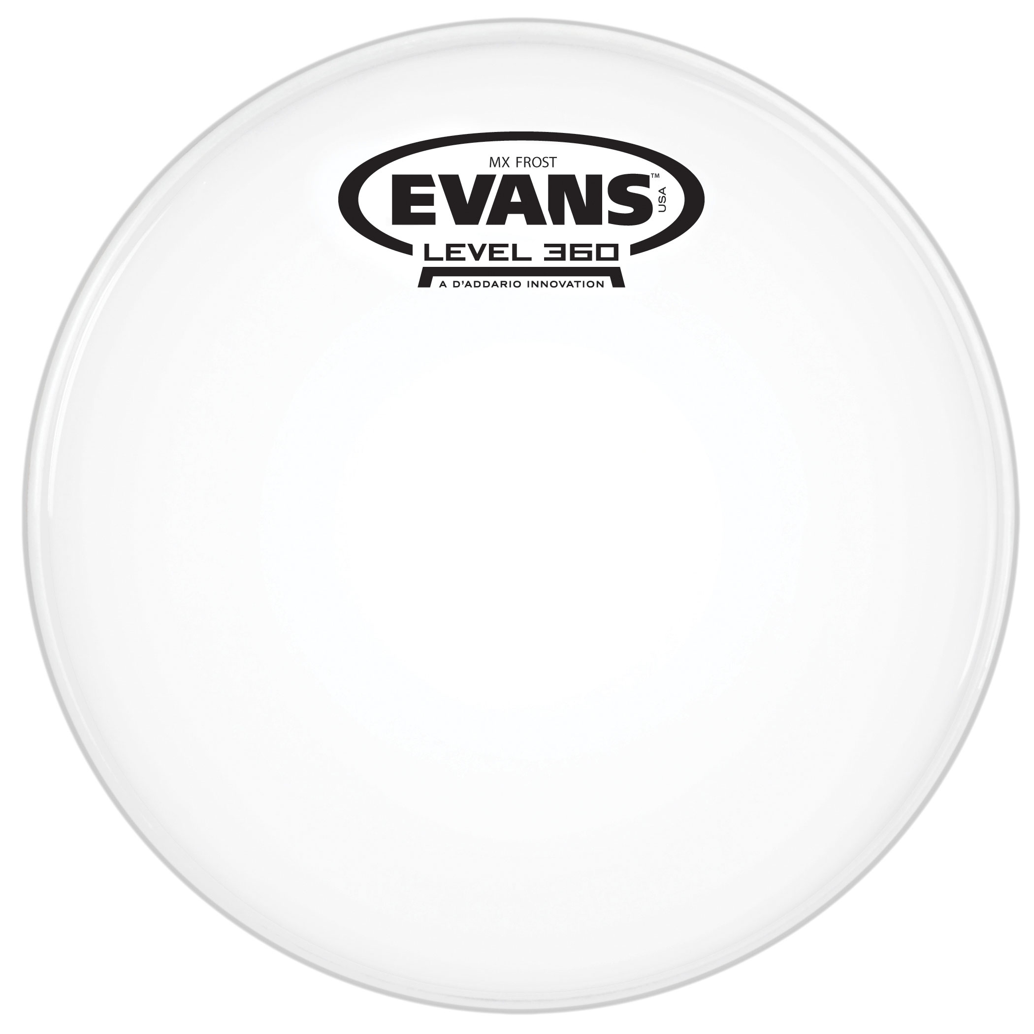 "Evans 6"" MX Frost Marching Tenor Head"