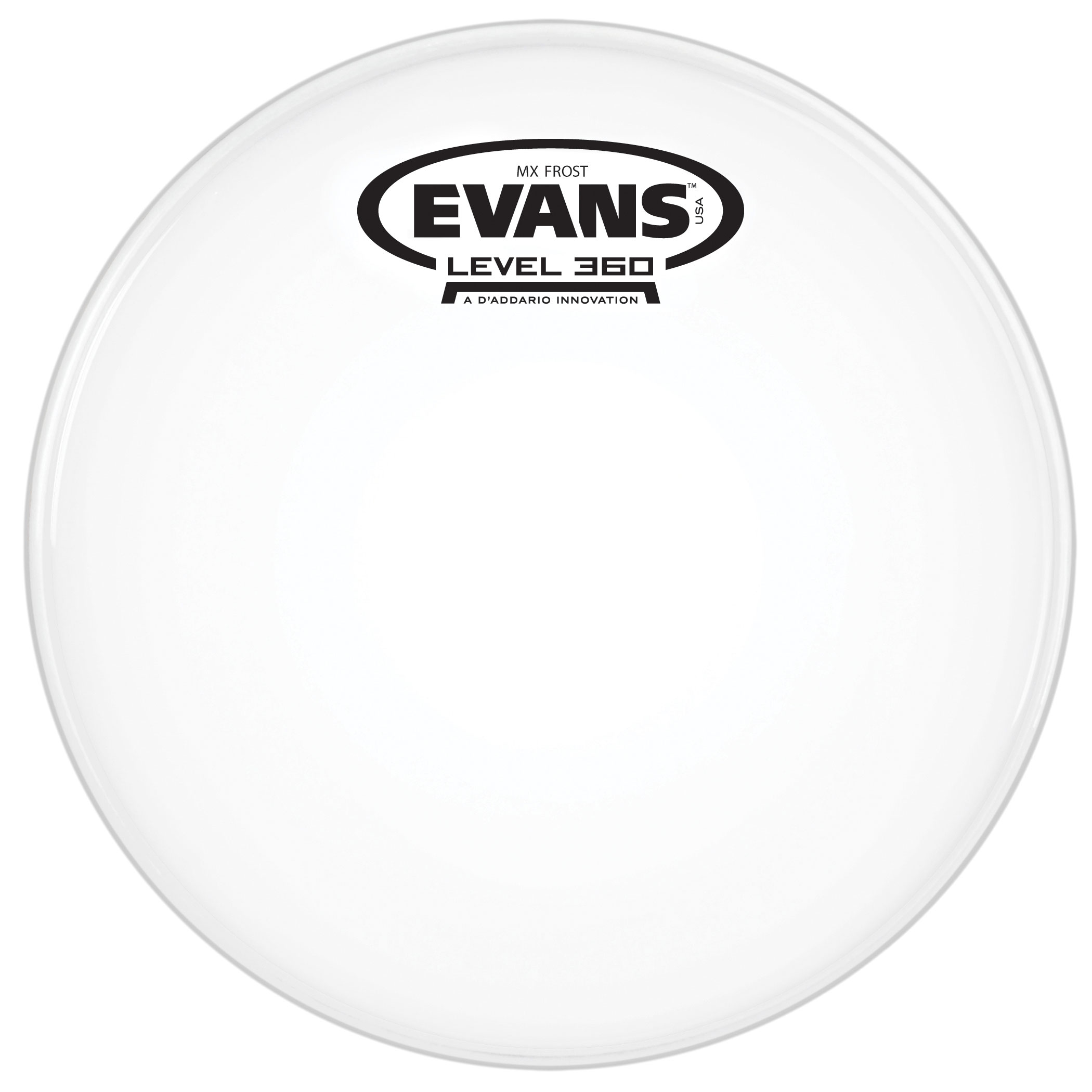 "Evans 10"" MX Frost Marching Tenor Head"