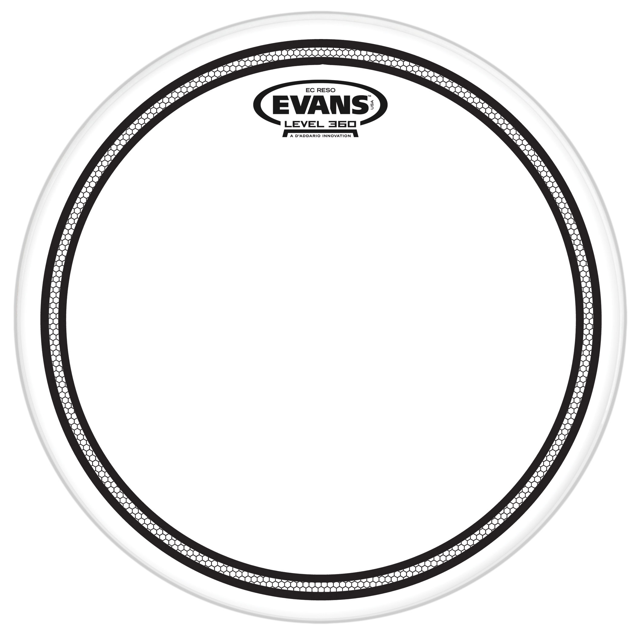 "Evans 12"" EC Resonant Head"