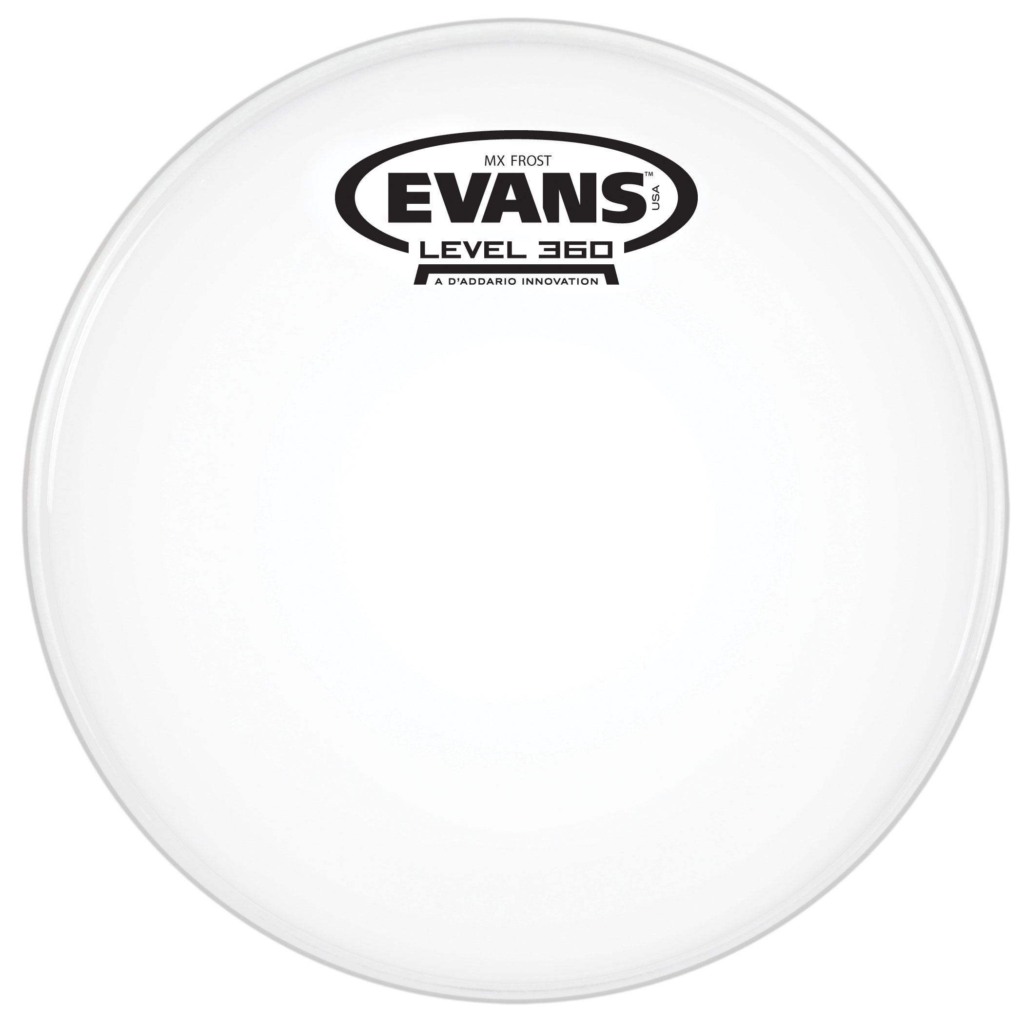 "Evans 13"" MX Frost Marching Tenor Head"