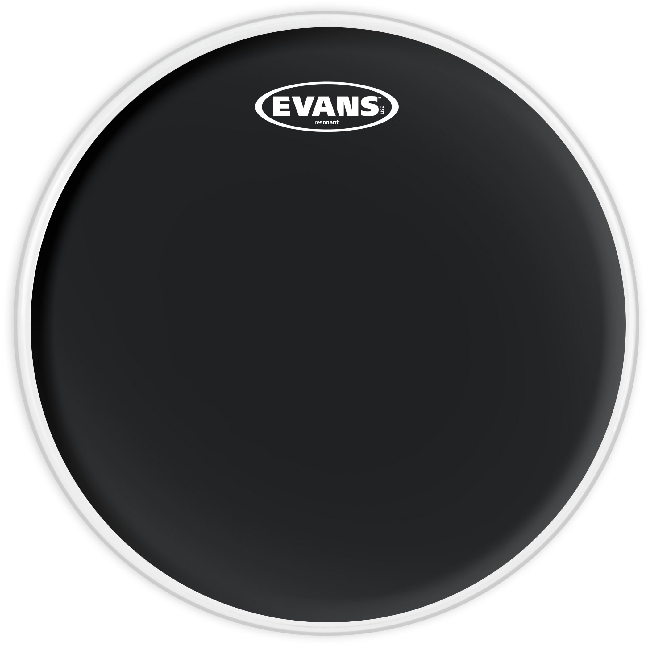 "Evans 14"" Resonant Black Head"