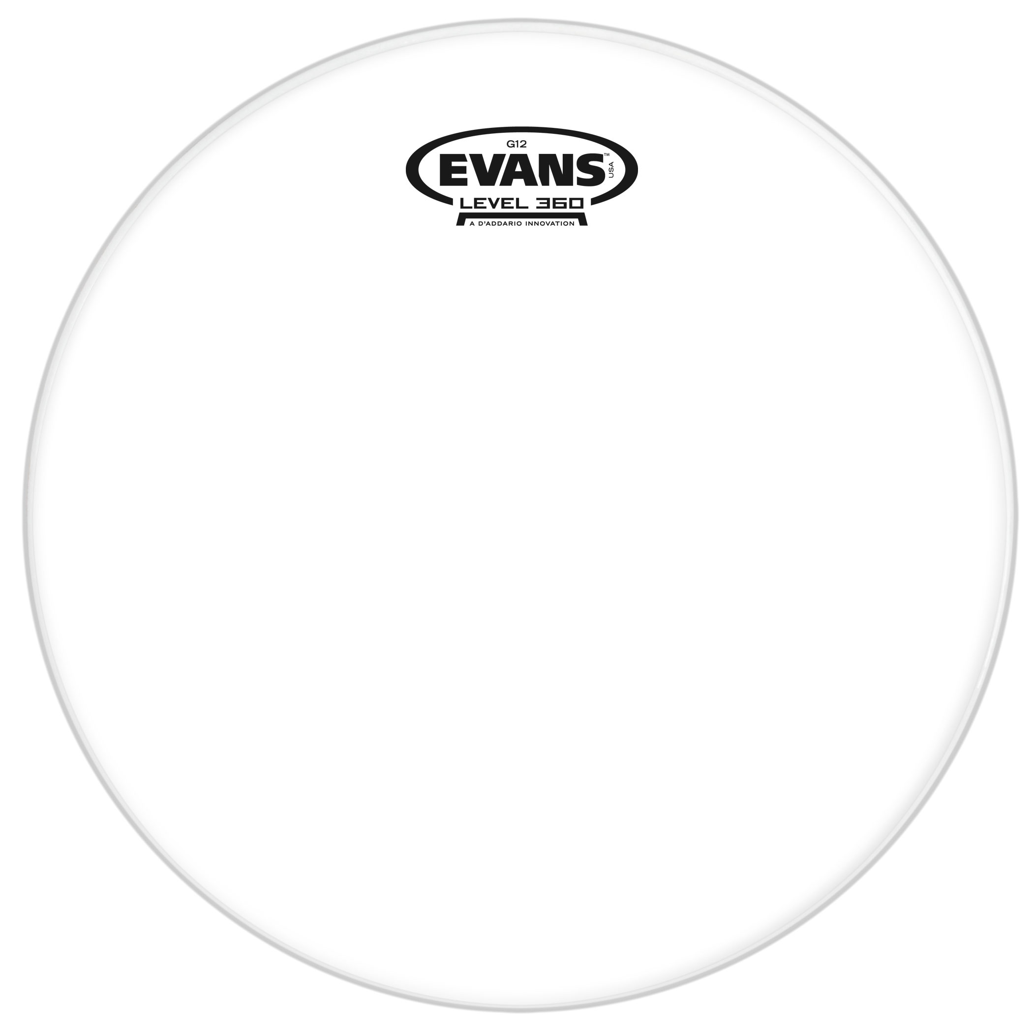 "Evans 20"" G12 Clear Tom Head"