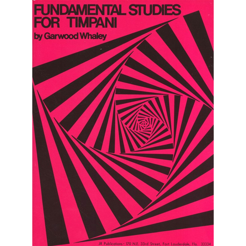 Fundamental Studies for Timpani by Garwood Whaley