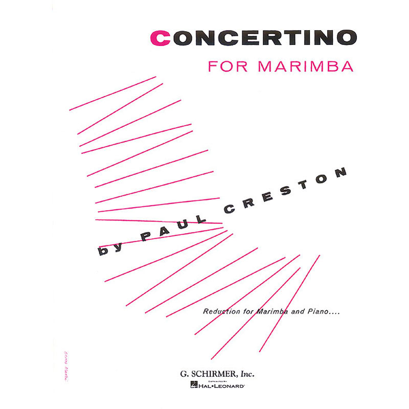 Concertino for Marimba by Paul Creston