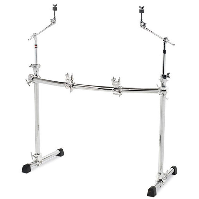 Gibraltar Chrome Series Curved Front Rack System with Cymbal Boom Arms