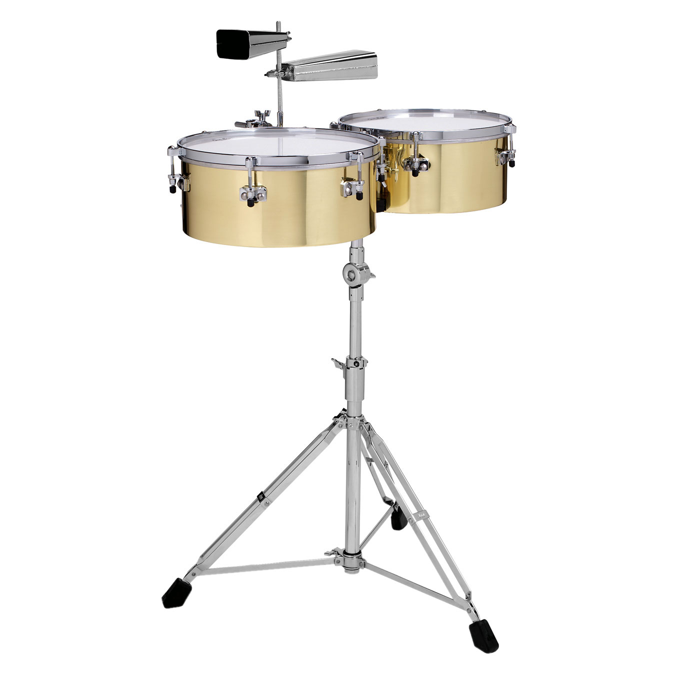 "Gon Bops 14/15"" Alex Acuna Brass Timbales"