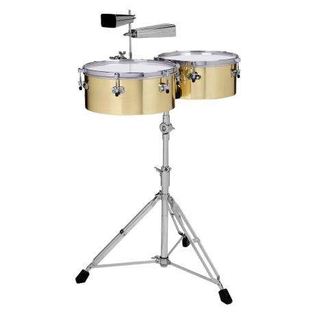 Gon Bops Alex Acuna Brass Timbales