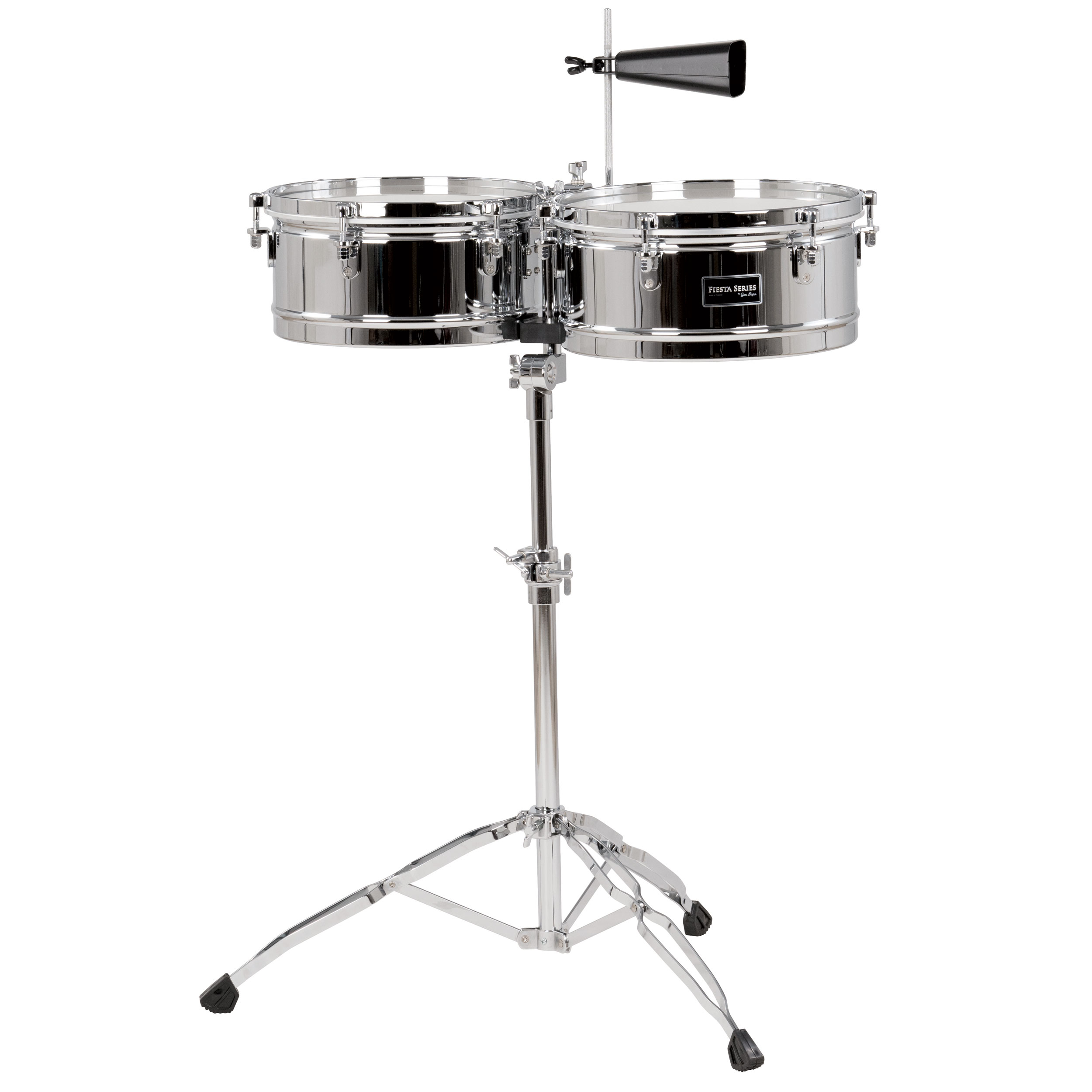"Gon Bops 13/14"" Fiesta Timbales with Stand"