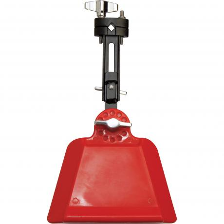 Gon Bops Red High-Pitched Jam Bell Synthetic Wood Block