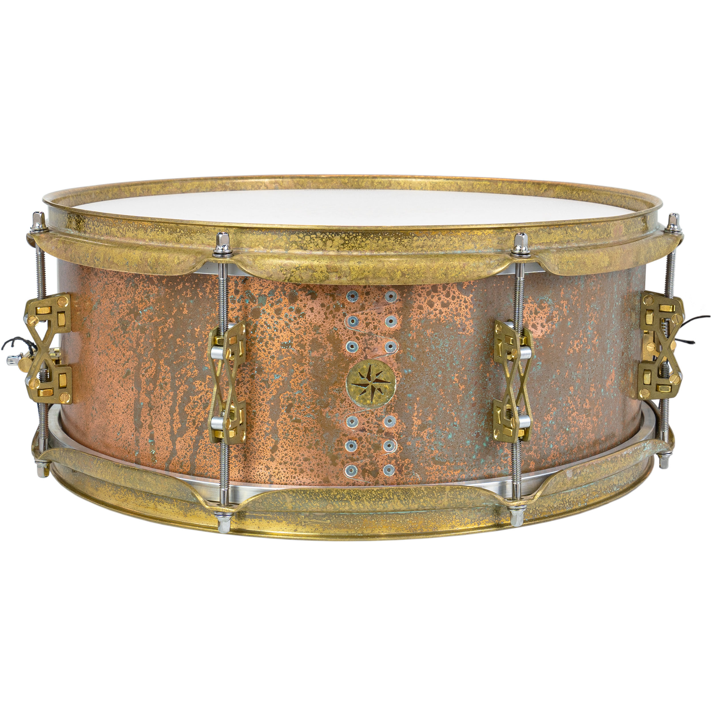 "Great Lakes Drum Co. 5.5"" x 14"" Copper Snare Drum (Demo)"