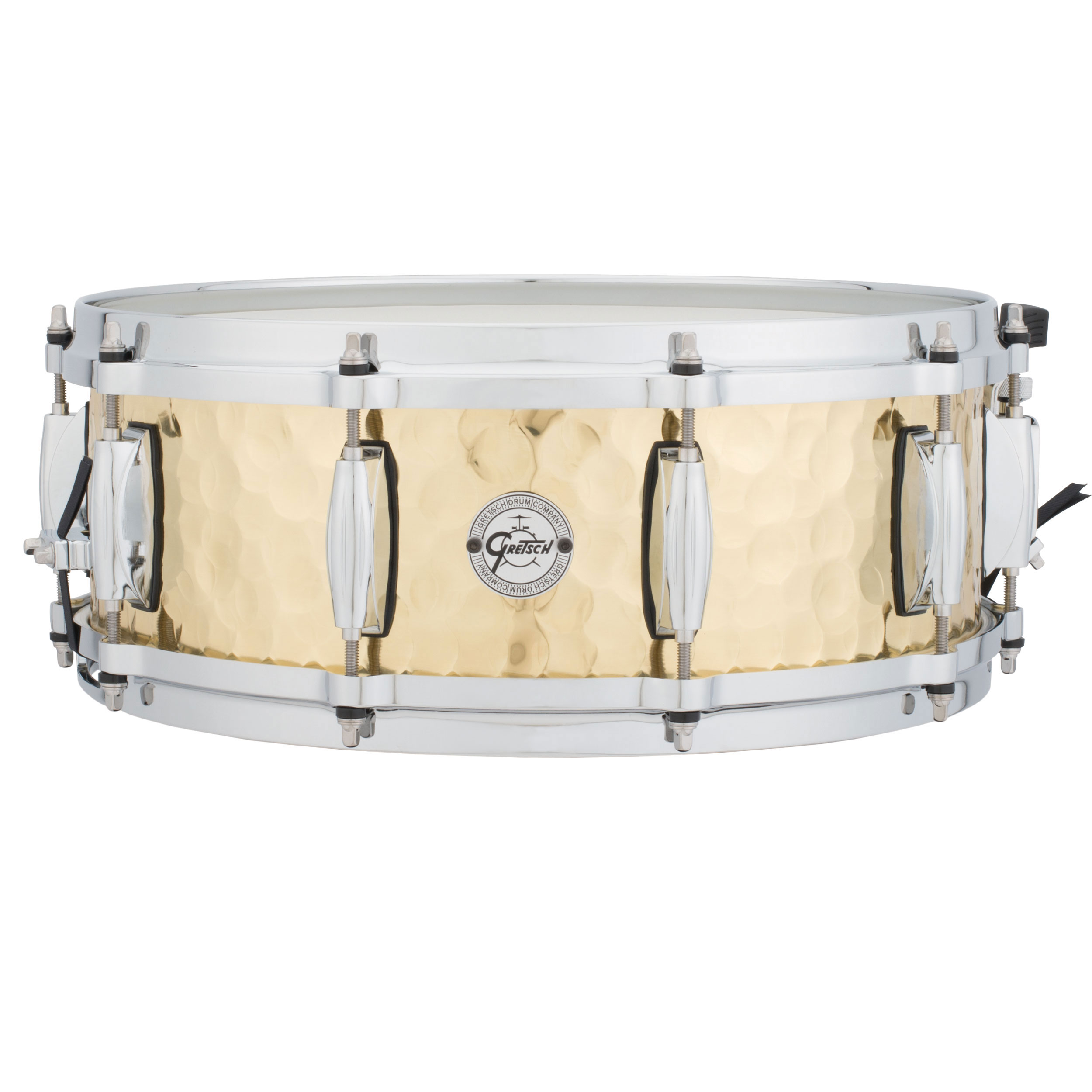 "Gretsch 5"" x 14"" Silver Series Hammered Brass Snare Drum"