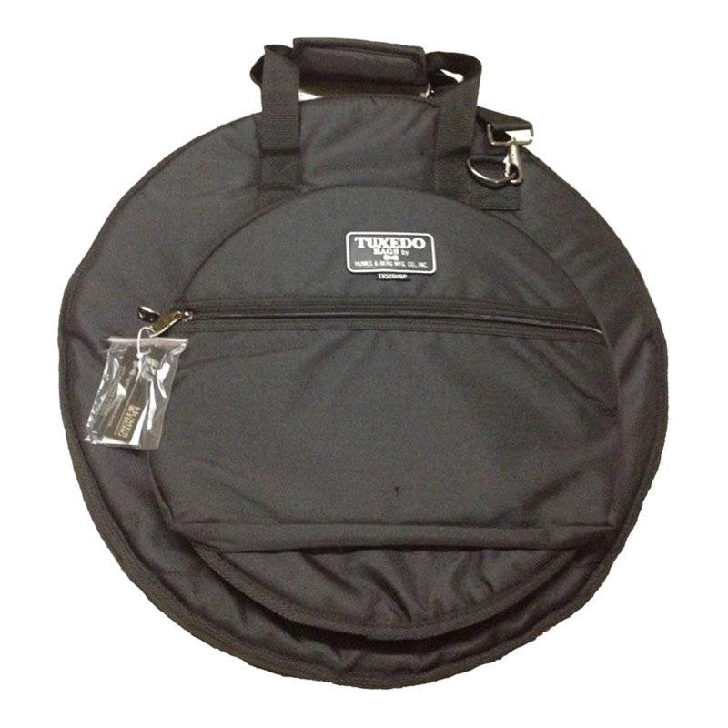 "Humes & Berg 22"" Tuxedo Cymbal Bag with Hi Hat Pouch and Back Pack Straps"