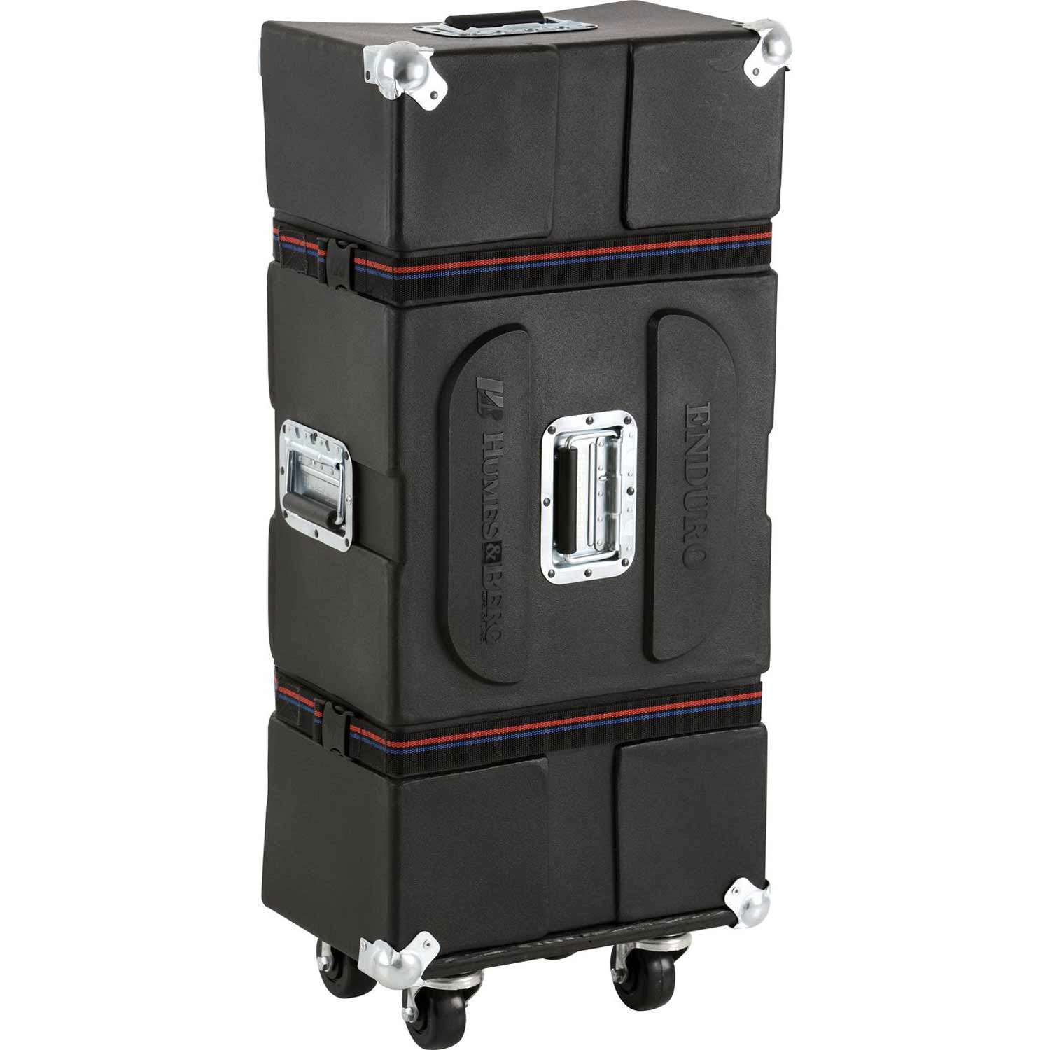 "Humes & Berg 30.5"" x 14.5"" x 12.5"" Foam Lined Enduro Companion Hardware Case with Casters"