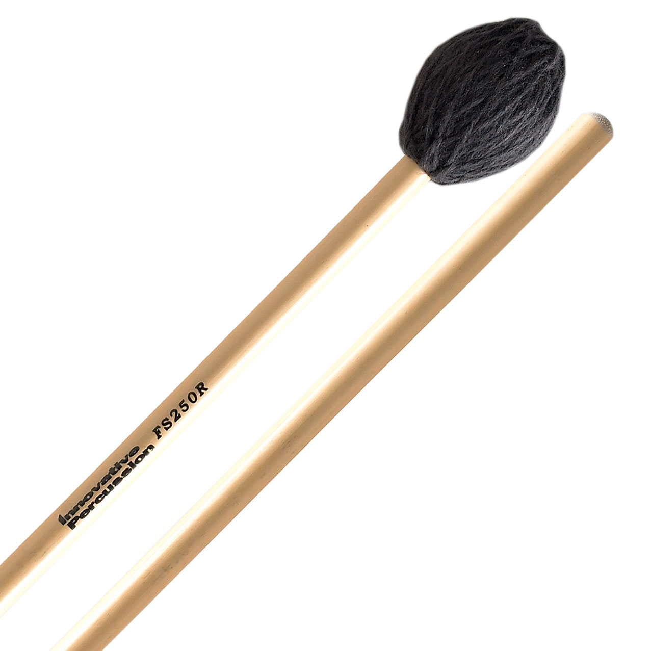 Innovative Percussion FS250R Field Series Hard Marimba Mallets with Rattan Shafts