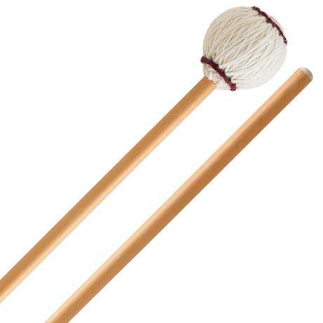 Innovative Percussion Ludwig Albert Signature Medium Soft Marimba Mallets with Rattan Shafts