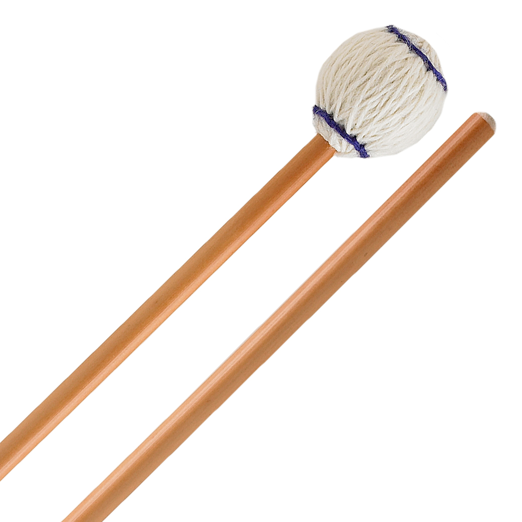Innovative Percussion Ludwig Albert Signature Medium Marimba Mallets with Rattan Shafts