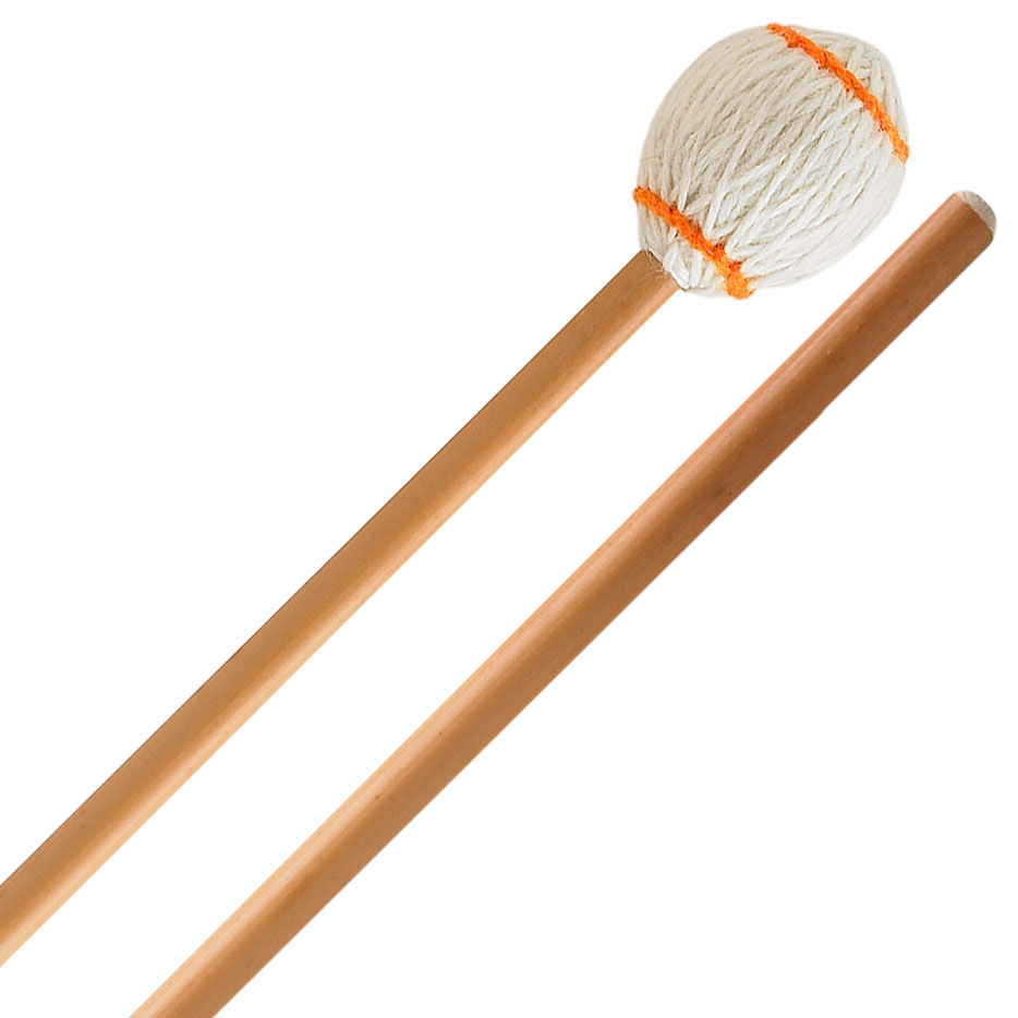 Innovative Percussion Ludwig Albert Signature Hard Marimba Mallets with Rattan Shafts
