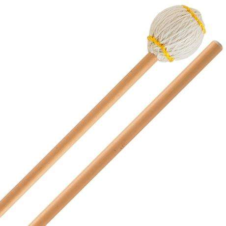 Innovative Percussion Ludwig Albert Signature Very Hard Marimba Mallets with Rattan Shafts