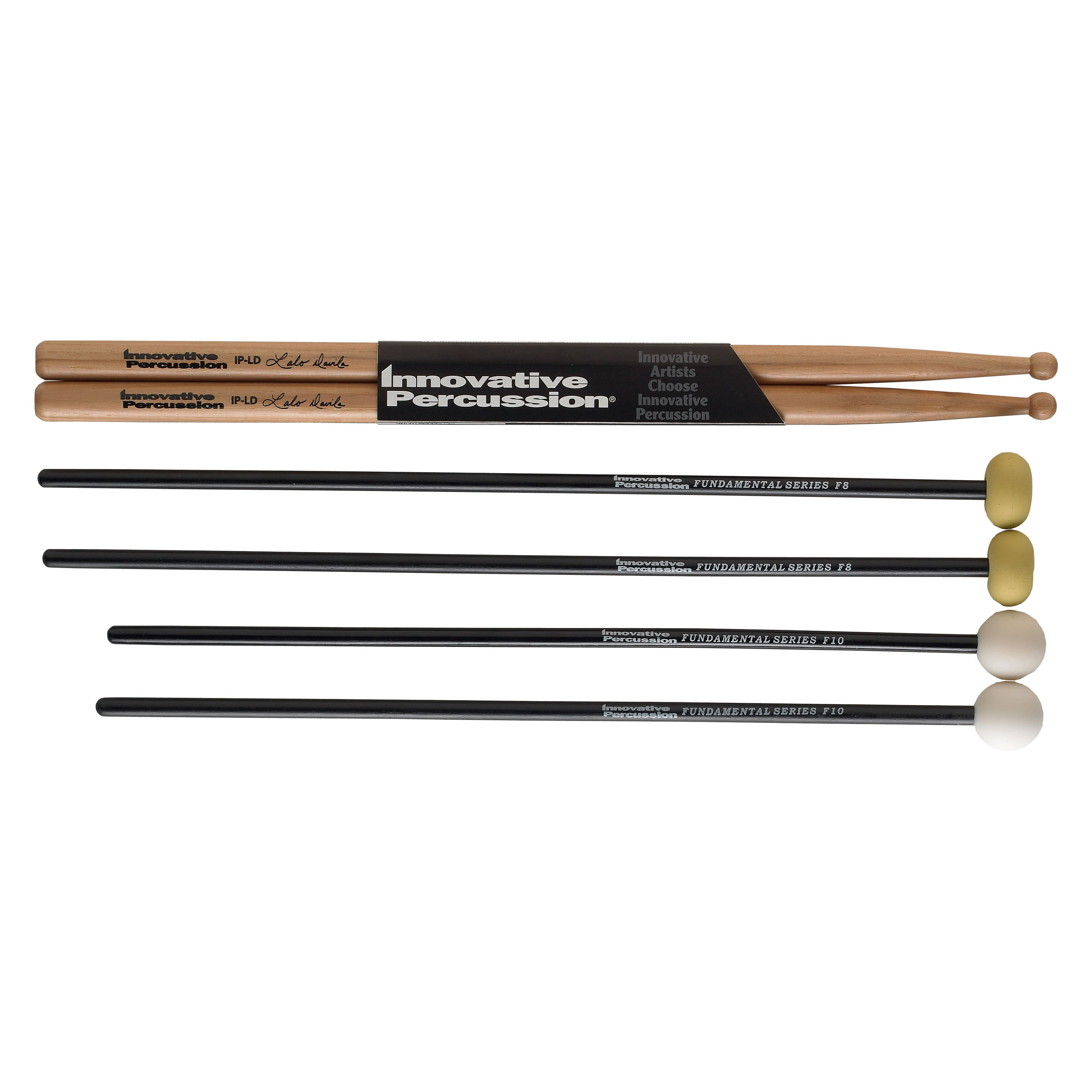 Innovative Percussion Fundamental Elementary Stick & Mallet Pack