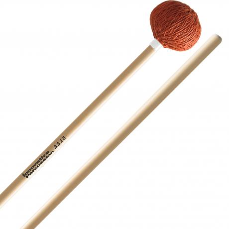 Innovative Percussion AA15 Rattan Series Soft Marimba/Vibraphone Mallets with Rattan Handles