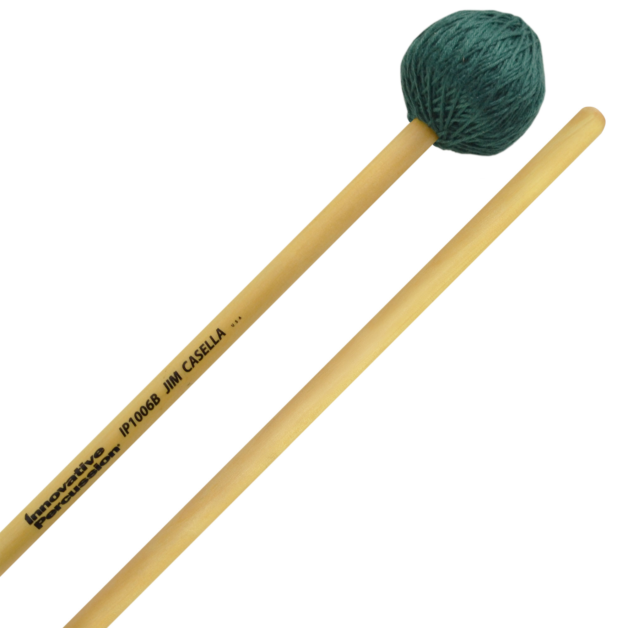 Innovative Percussion Jim Casella Hard Vibraphone Mallets with Birch Handles