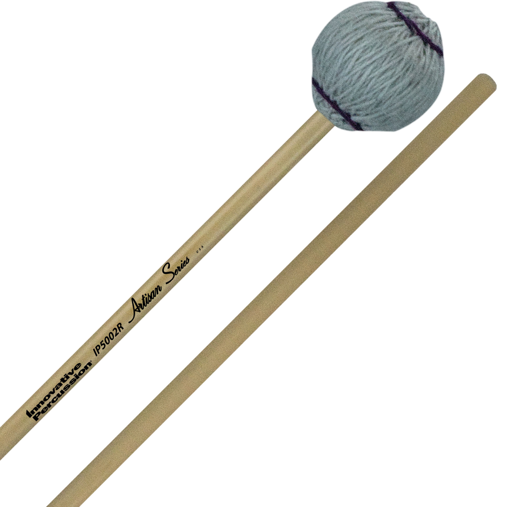 Innovative Percussion Artisan Series Medium Soft Marimba Mallets with Rattan Handles
