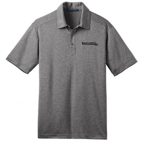 Innovative Percussion Men's Performance Cross Dye Polo Shirt