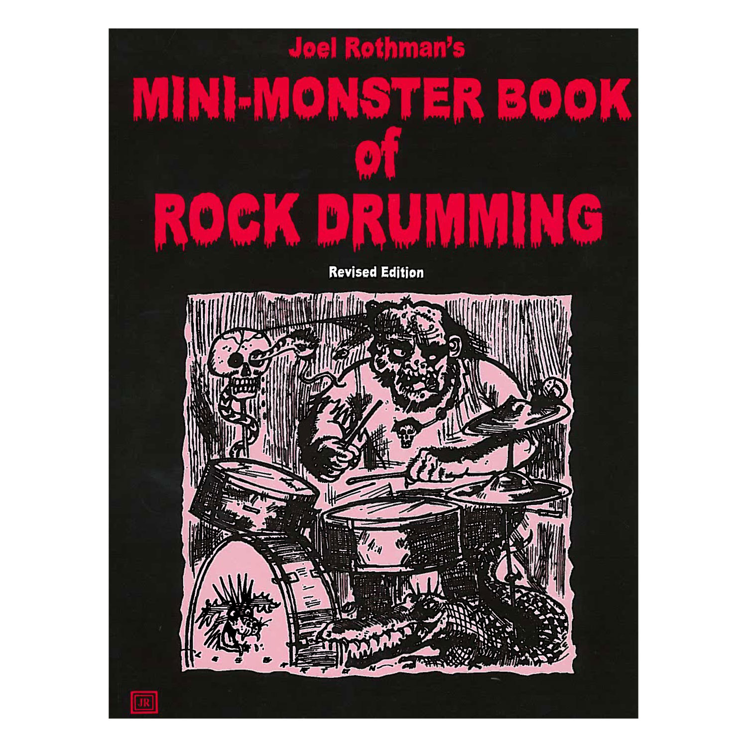 Mini-Monster Book of Rock Drumming by Joel Rothman