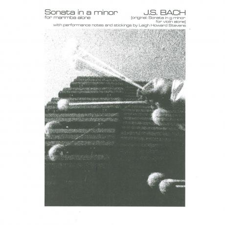 Sonata in A Minor (Originally G Minor) by J. S. Bach arr. Leigh Howard Stevens