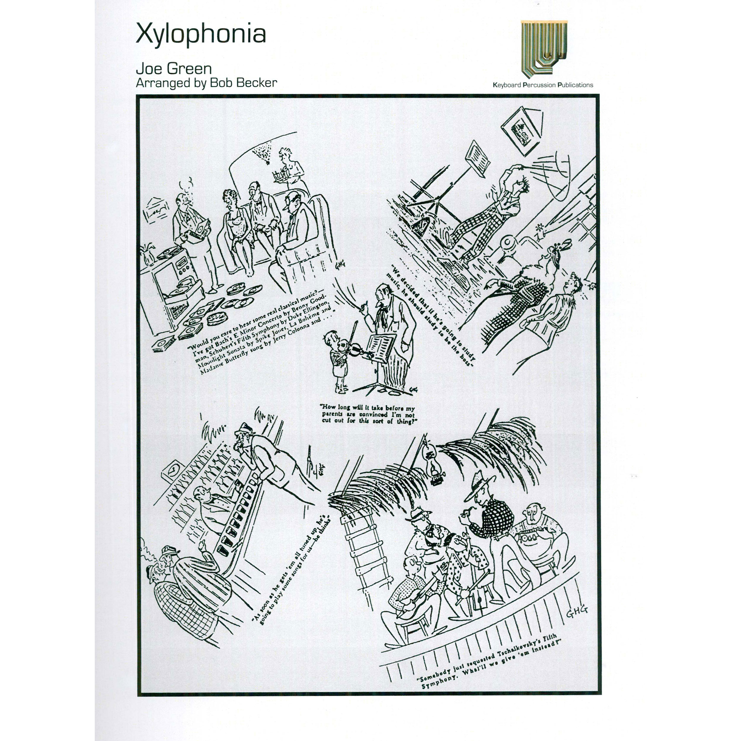 Xylophonia by Joe Green arr. Bob Becker