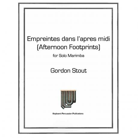 Afternoon Footprints (Empreintes dans l'apres midi) by Gordon Stout